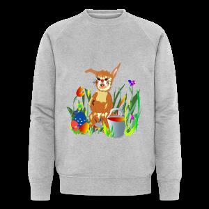 Shirt  Hase auf der Wiese - Männer Bio-Sweatshirt von Stanley & Stella