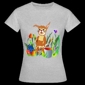 Shirt  Hase auf der Wiese - Frauen T-Shirt