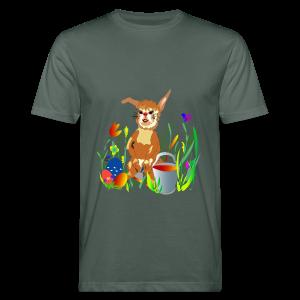Shirt  Hase auf der Wiese - Männer Bio-T-Shirt