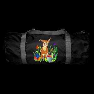 Shirt  Hase auf der Wiese - Sporttasche