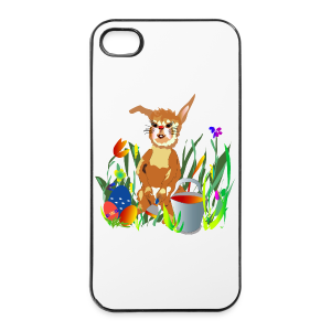 Shirt  Hase auf der Wiese - iPhone 4/4s Hard Case