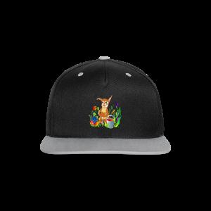 Shirt  Hase auf der Wiese - Kontrast Snapback Cap
