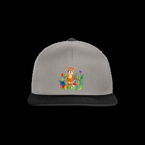 Shirt  Hase auf der Wiese - Snapback Cap