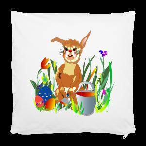 Shirt  Hase auf der Wiese - Kissenbezug 40 x 40 cm