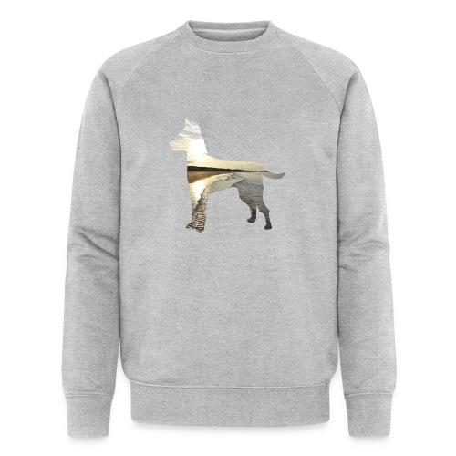 Hund-Nordsee - Männer Bio-Sweatshirt von Stanley & Stella