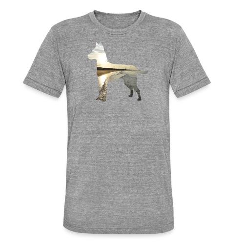 Hund-Nordsee - Unisex Tri-Blend T-Shirt von Bella + Canvas