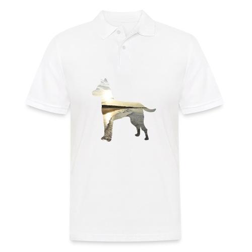 Hund-Nordsee - Männer Poloshirt