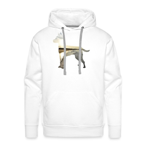 Hund-Nordsee - Männer Premium Hoodie
