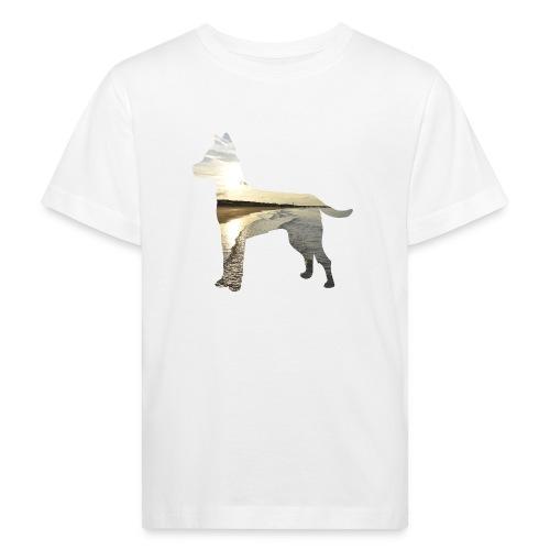 Hund-Nordsee - Kinder Bio-T-Shirt
