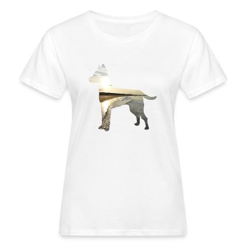 Hund-Nordsee - Frauen Bio-T-Shirt