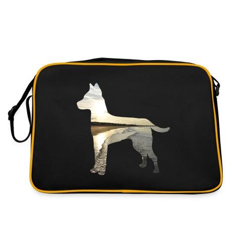 Hund-Nordsee - Retro Tasche