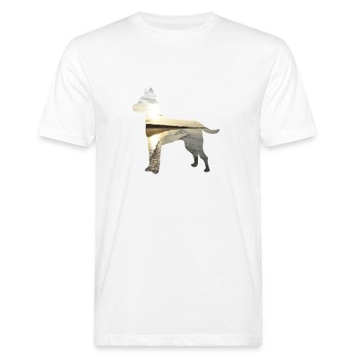 Hund-Nordsee - Männer Bio-T-Shirt