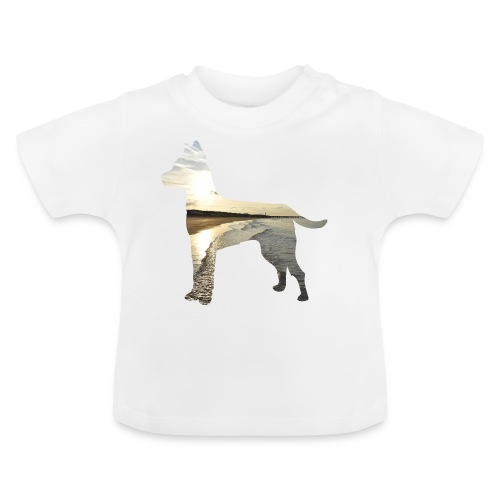 Hund-Nordsee - Baby T-Shirt