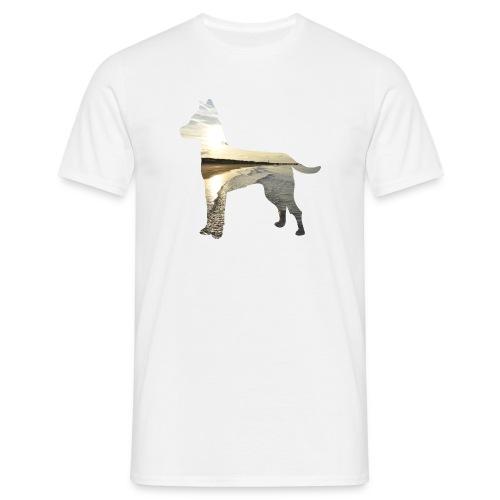 Hund-Nordsee - Männer T-Shirt