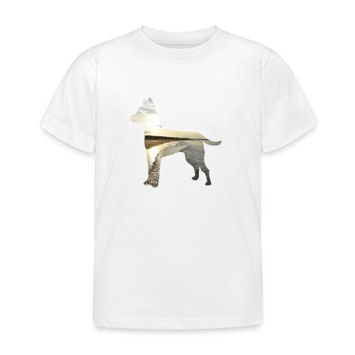 Hund-Nordsee - Kinder T-Shirt