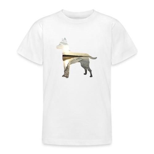 Hund-Nordsee - Teenager T-Shirt