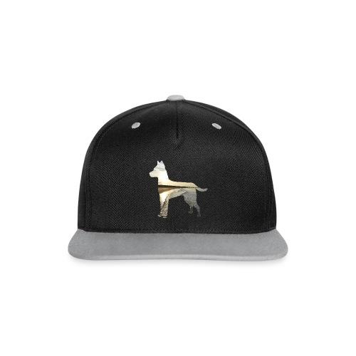 Hund-Nordsee - Kontrast Snapback Cap