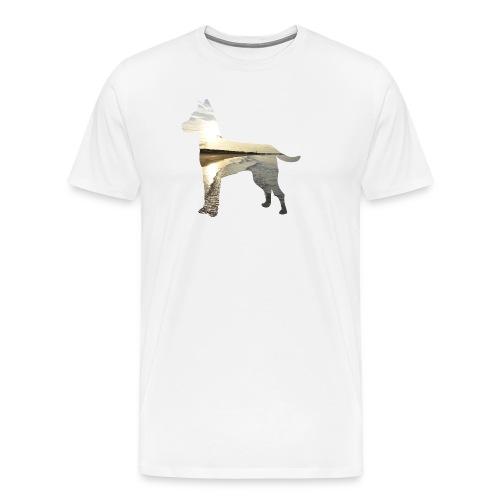 Hund-Nordsee - Männer Premium T-Shirt