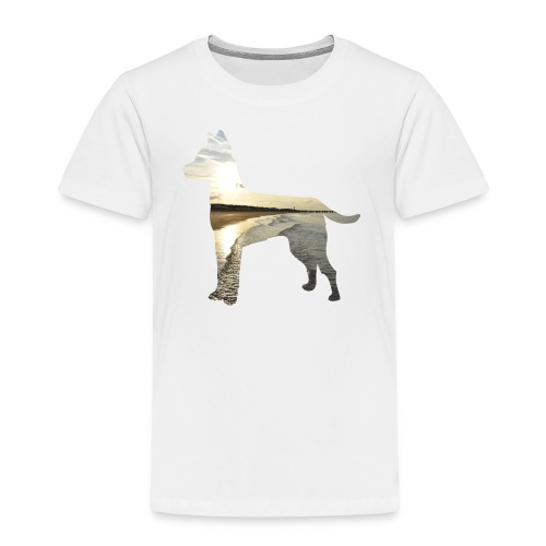 Hund-Nordsee - Kinder Premium T-Shirt