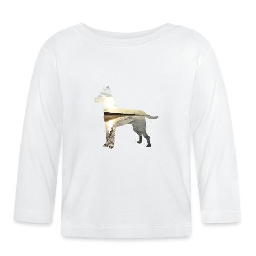Hund-Nordsee - Baby Langarmshirt