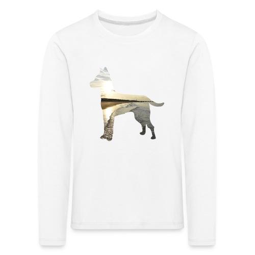 Hund-Nordsee - Kinder Premium Langarmshirt