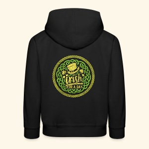"""St. Patrick's Day Shirt """"Irish for a day"""""""
