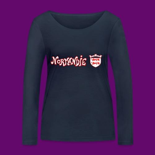 BLASON NORMANDIE - T-shirt manches longues bio Stanley & Stella Femme