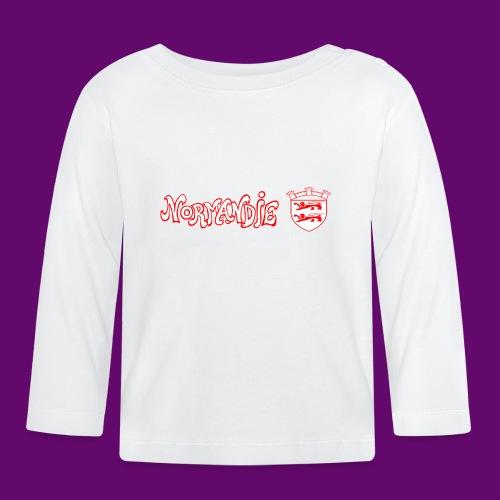 BLASON NORMANDIE - T-shirt manches longues Bébé