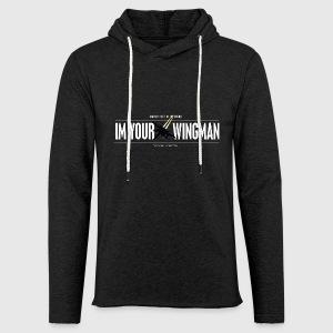 IM YOUR WINGMAN - Let sweatshirt med hætte, unisex