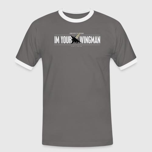 IM YOUR WINGMAN - Herre kontrast-T-shirt