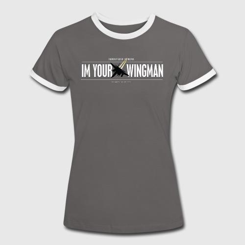 IM YOUR WINGMAN - Dame kontrast-T-shirt