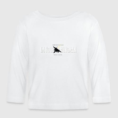 IM YOUR WINGMAN - Langærmet babyshirt