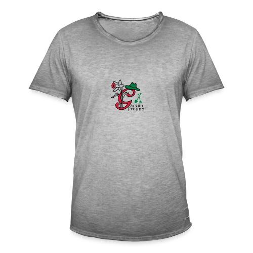 Gartenfreund - Männer Vintage T-Shirt