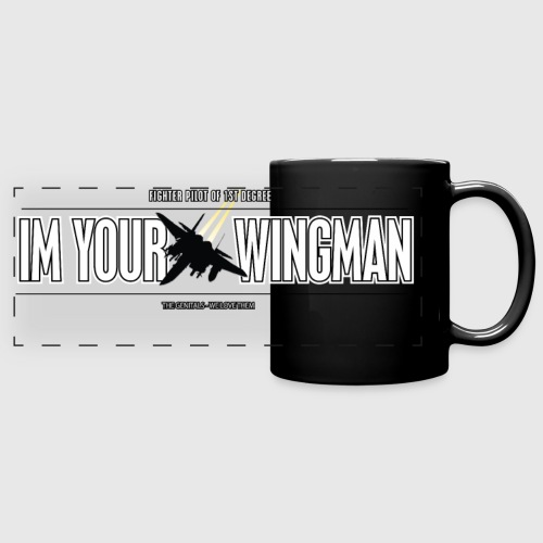 IM YOUR WINGMAN - Panoramakrus, farvet