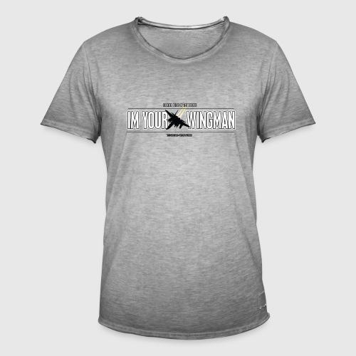 IM YOUR WINGMAN - Herre vintage T-shirt
