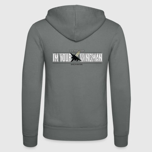 IM YOUR WINGMAN - Unisex hættejakke fra Bella + Canvas