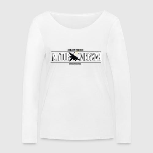 IM YOUR WINGMAN - Økologisk Stanley & Stella langærmet T-shirt til damer