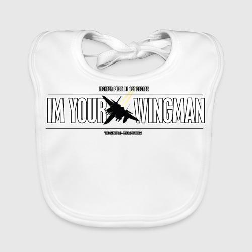 IM YOUR WINGMAN - Baby økologisk hagesmæk