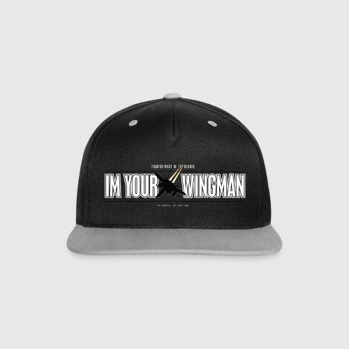 IM YOUR WINGMAN - Kontrast snapback cap