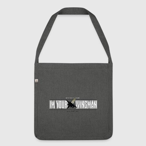 IM YOUR WINGMAN - Skuldertaske af recycling-material