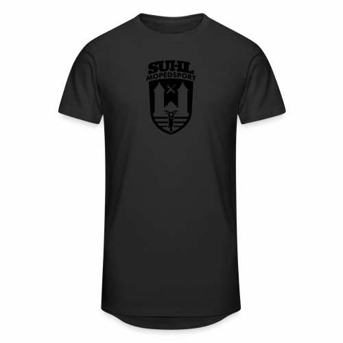 Suhl Mopedsport S50 / S51 Logo No.2 - Men's Long Body Urban Tee