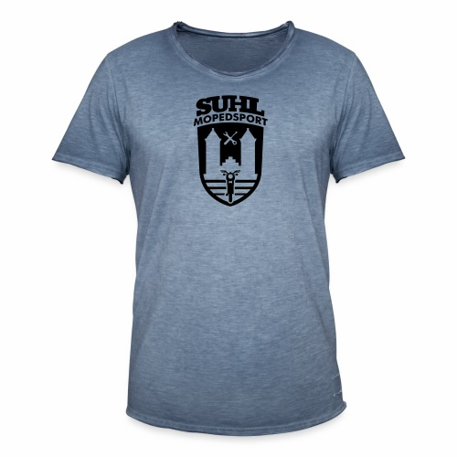 Suhl Mopedsport S50 / S51 Logo No.2 - Men's Vintage T-Shirt