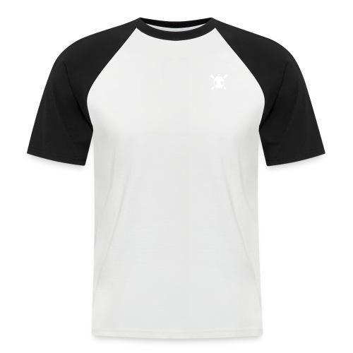 Henri the skull  - Männer Baseball-T-Shirt
