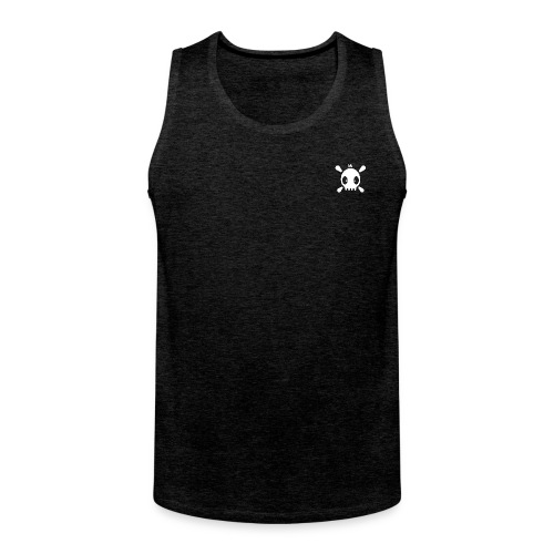 Henri the skull  - Männer Premium Tank Top