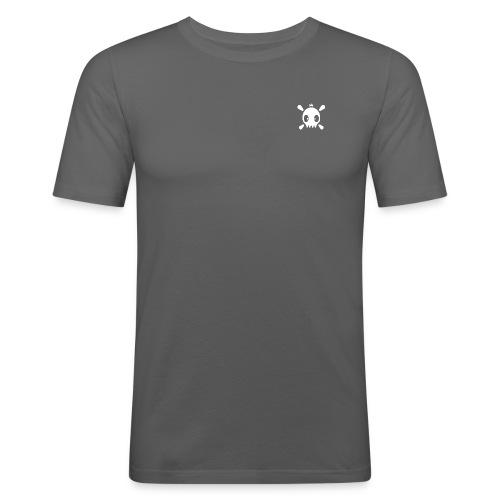 Henri the skull  - Männer Slim Fit T-Shirt
