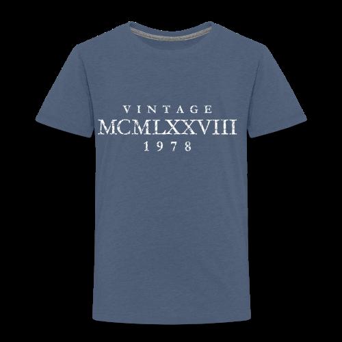 MCMLXXVIII Jahrgang 1978 Geburtstag