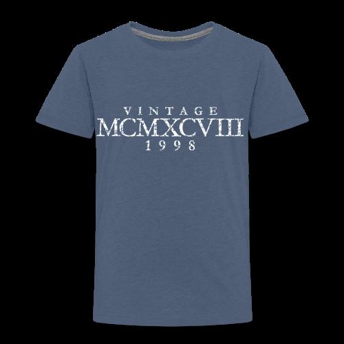 MCMXCVIII Jahrgang 1988 Geburtstag (Vintage White)