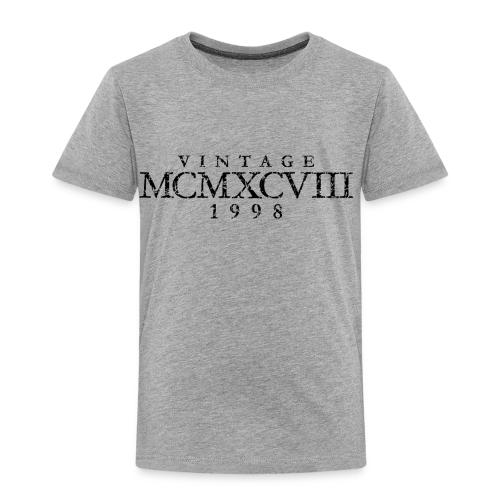 MCMXCVIII Jahrgang 1988 Geburtstag (Vintage Black)
