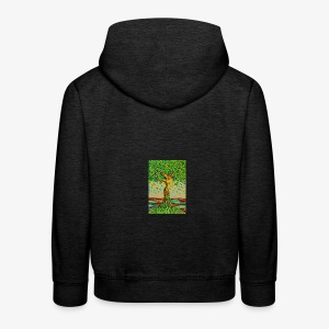 Tree of Life Lebensbaum GREEN APPLE Beauty Case - Kinder Premium Hoodie