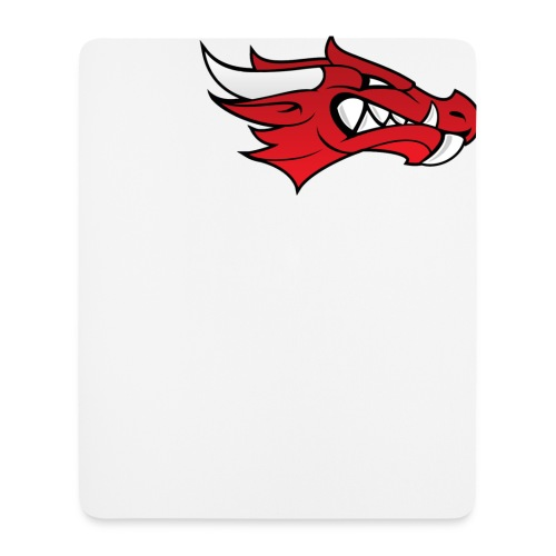 Small Dragon Logo - Mouse Pad (vertical)